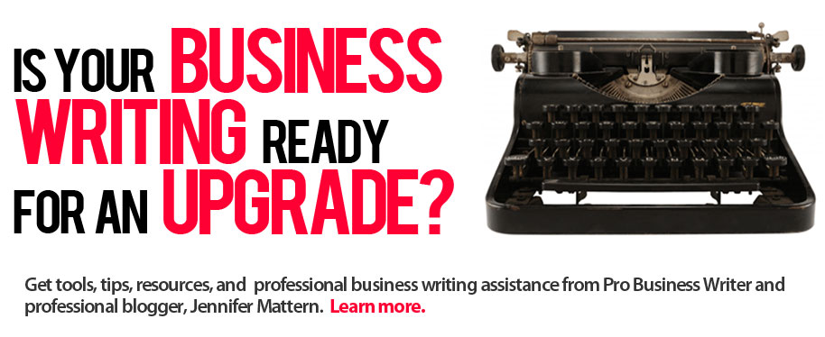 Is your business writing ready for an upgrade?